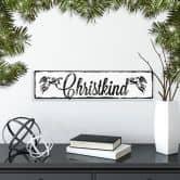 Hartschaum-Dekoschild Christkind