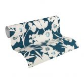 Esprit Home Vliestapete Fall in Love blau, creme