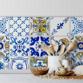 Adesivi piastrelle mediterranee
