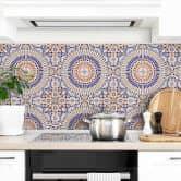 Tile stickers Oriental Tiles 03