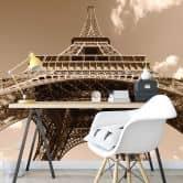 Fototapete Eiffelturm Perspektive - 336x260 cm