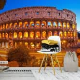 Fototapete Colosseum bei Nacht - 336x260 cm