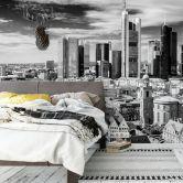 Fotobehang Frankfurt Skyline