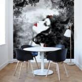 Papier peint photo -Papillon noir