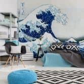 Fototapete Hokusai - Die große Welle