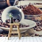 Fototapete Kaffeeträume - 384x260 cm