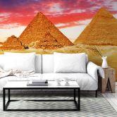 Fotobehang Piramides van Gizeh