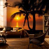 Papier peint photo - papier - Palmy Beach Sunrise