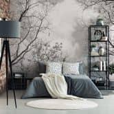 Photo Wallpaper Tree Tops