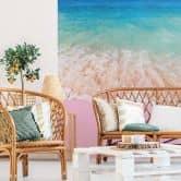 Fototapete Fuentes - Pink Sand - 192x260 cm
