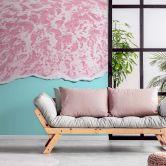 Fototapete Fuentes - Pink Sea - 192x260 cm