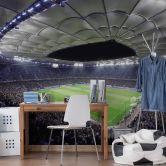 Fototapete Hamburger SV im Stadion bei Nacht - 336x260 cm