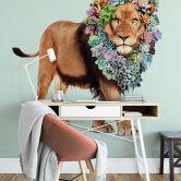 Fototapete Loose - Succulent Lion