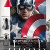 Vlies Panel Marvel Captain America Civil War