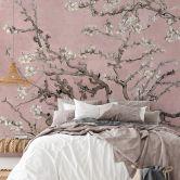Fototapete van Gogh - Mandelblüte rosé