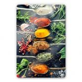 Variety of Spices 1 Glass art