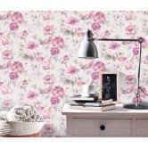 Guido Maria Kretschmer Vliestapete Fashion for Walls rosa