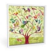 Wandbild Blanz - Exotische Vögel