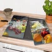 Herdabdeckplatte Erfrischendes Obst