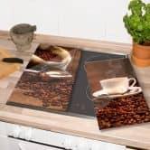 Plaque de protection - Saveurs du café
