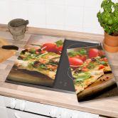 Herdabdeckplatte Pizza alla Italia