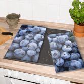 Herdabdeckplatte Blaubeeren