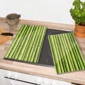 Afdekplaat Bamboe
