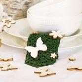 Holz-Streudeko Schmetterling