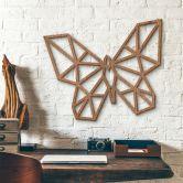 Holzkunst Mahagoni- Origami Schmetterling