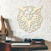 Holzkunst Pappel - Origami Eule