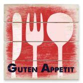 Holzbild Guten Appetit