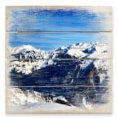 Alpine Panorama - Wood Print