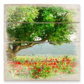 Holzbild Sommererwachen
