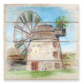 Holzbild Toetzke - Holländerwindmühle