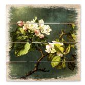 Holzbild Heade - Apfelblüten