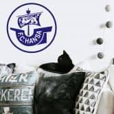 Wandtattoo Hansa Rostock Logo einfarbig