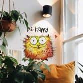 Wandtattoo Hagenmeyer - Happy Hamster