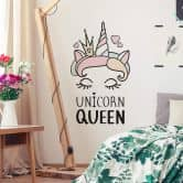 Wall sticker Kvilis - Unicorn Queen
