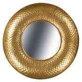 Metall Wandspiegel Cleo 290 Gold
