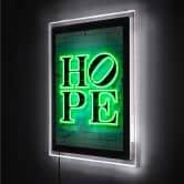 LED-Wandbild - Mielu - Hope