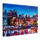 Tableau sur toile - Bleichner - Amsterdam