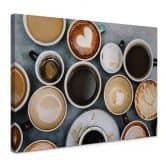 Leinwandbild Kaffee Variationen