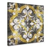Leinwandbild Morroccan Ornament - Quadratisch