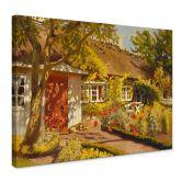 Canvas Het Tuinhuis