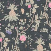 Livingwalls Vliestapete Paradise Garden Tapete in Dschungel Optik rosa, schwarz, braun