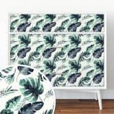 Sticker meuble Kristina Kvilis - Jungle 03 (Panorama)