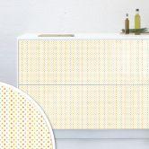 Möbelfolie, Dekofolie - abwischbar - Polka Dots