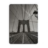 Magnettafel Brooklyn Bridge Perspektive