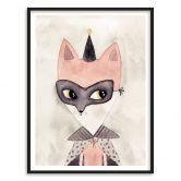 Poster mit Bilderrahmen Carnival Fox