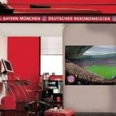 FC Bayern München Wandbild Panel